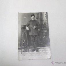 Fotografía antigua: FOTO MILITAR, REGIMIENTO 13, MUY ANTIGUA. Lote 43902799