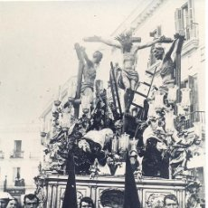 Fotografía antigua: SEMANA SANTA DE SEVILLA, POSTAL FOTOGRAFICA HERMANDAD DE LA CARRETERIA. Lote 44867425