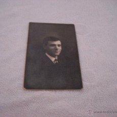 Fotografía antigua: FOTO BUSTO CABALLERO . FOTOGRAFIA ROVIRA TARJETA POSTAL. Lote 45131454