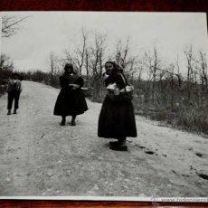 Fotografía antigua: FOTOGRAFIA DE TIPOS DE LA ALBERCA (SALAMANCA), FOTOGRAFIA DEL MARQUES DE SANTA MARIA DEL VILLAR, MID. Lote 45137850