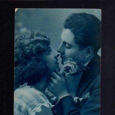 Fotografía antigua: POSTAL ROMÁNTICA . CIRCULADA . . Lote 45319222