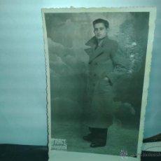 Fotografía antigua: FOTO ANTIGUA-TARJETA POSTAL, CABALLERO. Lote 46040137