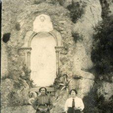 Fotografía antigua: CAMINO DE MONTSERRAT, 1914 JESUS SALVADOR UCAR. Lote 47338864