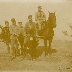Fotografía antigua: CAMPAÑA DE MELILLA. HAYARA 1909. Lote 47339662