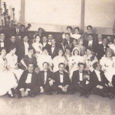 Fotografía antigua: F- 78. LOTE 2 FOTOGRAFIAS ANTIGUAS CARNAVAL 1916.. Lote 47361538