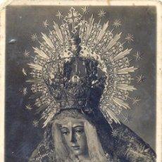 Fotografía antigua: SEMANA SANTA DE SEVILLA, POSTAL FOTOGRAFICA, ESPERANZA MACARENA, FOT.SANCHEZ DEL PANDO. Lote 47381632