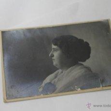 Fotografía antigua: SEÑORA ELEGANTE CAYUELA Y ACACIO FOTOGRAFO VALENCIA. Lote 48050569