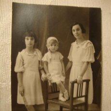 Fotografia antica: ANTIGUA FOTOGRAFIA POSTAL ORIGINAL AÑOS 20 NIÑA NIÑAS . Lote 48304627