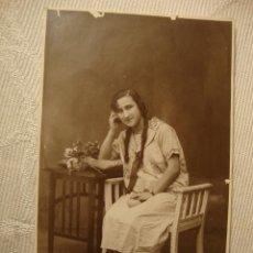 Fotografía antigua: ANTIGUA FOTOGRAFIA POSTAL AÑO 1926. Lote 48305513