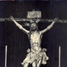 Fotografía antigua: SEMANA SANTA DE SEVILLA, ANTIQUISIMA POSTAL FOTOGRAFICA DE EL CACHORRO,FOT.SERRANO. Lote 48328814