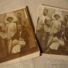Fotografía antigua: 2 ANTIGUAS FOTOGRAFIAS ORIGINALES AÑOS 20. Lote 48398017