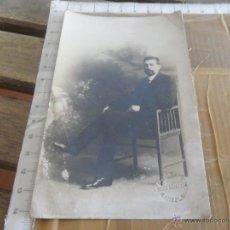 Fotografía antigua: FOTO FOTOGRAFIA TARJETA POSTAL CABALLERO . Lote 48608138