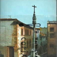Fotografía antigua: ANTIGUA POSTAL MONTBLANC Nº 284 CREU DE SANTA MARIA. Lote 48808429