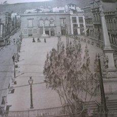 Fotografía antigua: GRAN LAMINA DE FOTOGRAFÍA ANTIGUA, DE SANTA CRUZ DE TENERIFE, CERCA DE 1930.. Lote 49270982