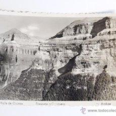 Fotografía antigua: TARJETA POSTAL ORDESA FRAUCATA Y COTATUERO EDICIONES ARRIBAS. Lote 49529654