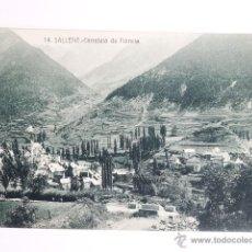 Fotografía antigua: TARJETA POSTAL SALLLENT CARRETERA DE FRANCIA. Lote 49529815