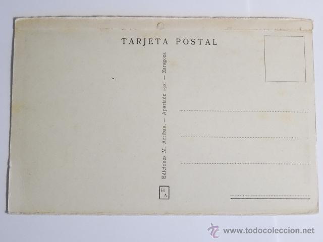 Fotografía antigua: tarjeta postal huesca coso alto ediciones arribas zaragoza - Foto 2 - 49529840