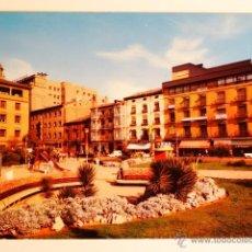 Fotografía antigua: TARJETA POSTAL ZARAGOZA PLAZA DE SALAMERO. Lote 49530813