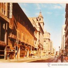 Fotografía antigua: TARJETA POSTAL ZARAGOZA CALLE DEL COSO. Lote 49530973