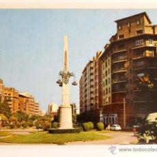 Fotografía antigua: TARJETA POSTAL ZARAGOZA PASEO DE MARINA MORENO. Lote 49531037