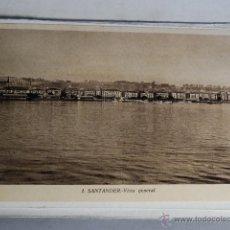 Fotografía antigua: TARJETA POSTAL SANTANDER PLAYA ARISTOCRATICA VISTA GENERAL . Lote 49531188