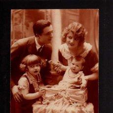 Fotografía antigua: POSTAL FOTOGRÁFICA. FAMILIAR. CIRCULADA . Lote 49599490