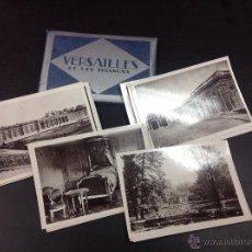 Fotografía antigua: VERSAILLES ET LES TRIANONS - 20 FOTOS. Lote 49622000
