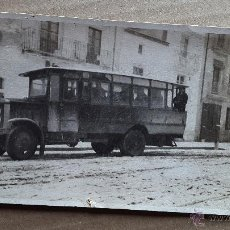 Fotografía antigua: AUTOBUS - POSTAL FOTOGRÁFICA - 1920'S - Nº 4 . Lote 49700657