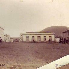 Fotografía antigua: LOS SILOS-LA PLAZA - TENERIFE. Lote 49723372