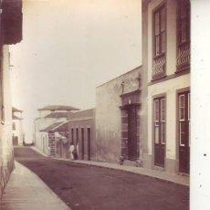 Fotografía antigua: GARACHICO-CALLE NORTE - TENERIFE. Lote 49723388