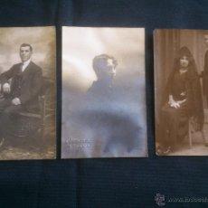 Fotografía antigua: FOTOGRAFIA ANTIGUA FOTOS.CERVERA VALLADOLID.1921. Lote 49916224