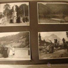 Fotografía antigua: ANTIGUO LOTE COLECCION FOTOGRAFIAS TARJETA POSTAL ORIGINALES FRANCIA PUIGCERDA? AÑO 1933. Lote 49943078