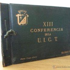 Fotografía antigua: DOCTOR. ANTONIO CRESPO ALVAREZ. ÁLBUM DE FOTOS DE LA CONFERENCIA CONTRA LA TUBERCULOSIS DE 1954.. Lote 50027991