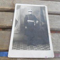 Fotografía antigua: FOTO FOTOGRAFIA TARJETA POSTAL MILITAR 1919 FOTO TEROL MADRID. Lote 50114184