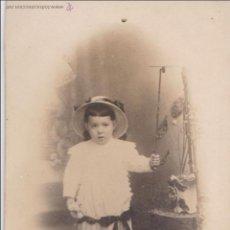 Photographie ancienne: F- 646. ANTIGUA FOTOGRAFIA NIÑA. PRINCIPIOS DE SIGLO.. Lote 50196475