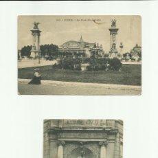 Fotografía antigua - Lote (2) tarjetas postales antiguas de París *Ocasión* Sin circular - 50251847