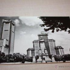 Fotografía antigua: MADRID N0 72=PLAZA ESPAÑA MONUMENTO A CERVANTES -DOMINGUEZ FISA. Lote 50260069