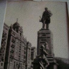 Fotografía antigua: ANTIGUAS FOTOS POSTALES EN 2 D, DE MALAGA, PLAZA GENERAL QUEIPO DE LLANO, EXCLUSIVAS FOTO STUDIO ALA. Lote 50265728