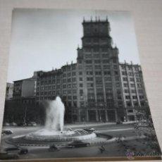 Fotografía antigua: N0 12 BARCELONA = FUENTE MONUMENTAL DEL PASEO DE GRACIA= FOT INDUSTRIA RODRIGUEZ. Lote 50316522