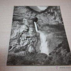 Fotografía antigua: BROTO N07 CASCADA DE SERRESAL EDICIONES SICILIA ZARAGOZA . Lote 50318419