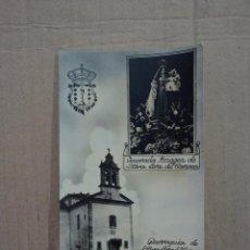 Fotografía antigua: PARROQUIA DE NTRA. SEÑORA DEL CARMEN - MONDOÑEDO - LUGO - GALICIA . Lote 50611101