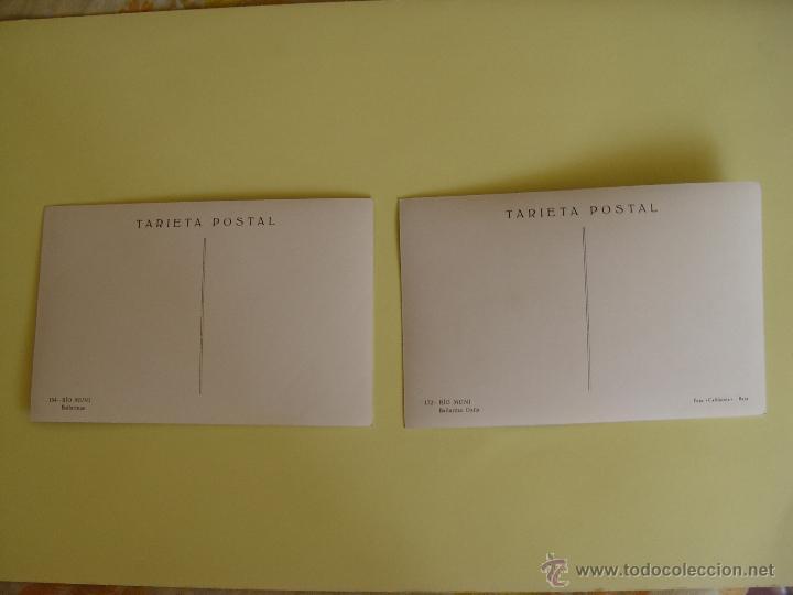 Fotografía antigua: Lote de 2 tarjetas postales (1960's) GUINEA (Río Muni) (Bailarinas) ¡Sin circular! ¡Originales! - Foto 2 - 50859745