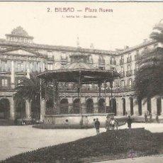 Fotografía antigua: BILBAO BILBO PLAZA NUEVA AÑOS 20 POSTAL (REF.A59). Lote 51063113