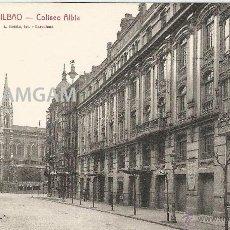 Fotografía antigua: BILBAO BILBO COLISEO ALBIA AÑOS 20 POSTAL (REF.A69). Lote 51063247