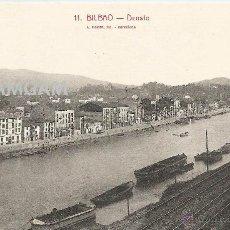 Fotografía antigua: BILBAO BILBO DEUSTO AÑOS 20 POSTAL (REF.A70). Lote 51063288