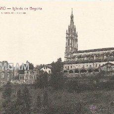 Fotografía antigua: BILBAO BILBO IGLESIA DE BEGOÑA AÑOS 20 POSTAL (REF.A76). Lote 51063401