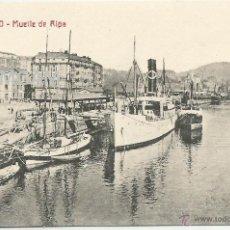 Fotografía antigua: BILBAO BILBO MUELLE DE RIPA AÑO 1911 - (REF A98) POSTAL. Lote 51070036
