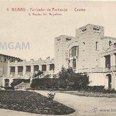 Fotografía antigua: BILBAO BILBO FUNICULAR DE ARCHANDA ARTXANDA CASINO AÑOS 20 - (REF A112) POSTAL. Lote 51070540