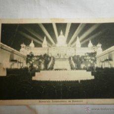 Fotografía antigua: ANTIGUA POSTAL EXPOSICION INTERNACIONAL BARCELONA 1929. Lote 51524885