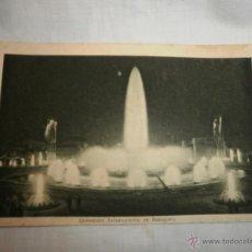 Fotografía antigua: ANTIGUA POSTAL EXP. INTERNACIONAL BARCELONA 1929. Lote 51524981